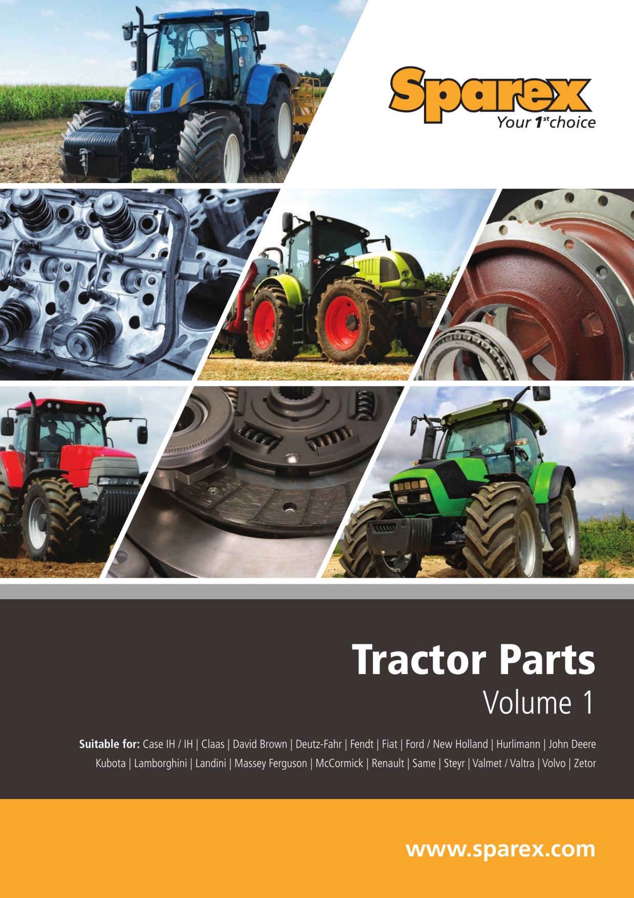Massey,Case,IH,Deutz,Same,Landini,Renault,Ford,Fiat Tractor Fuel Filter x 1