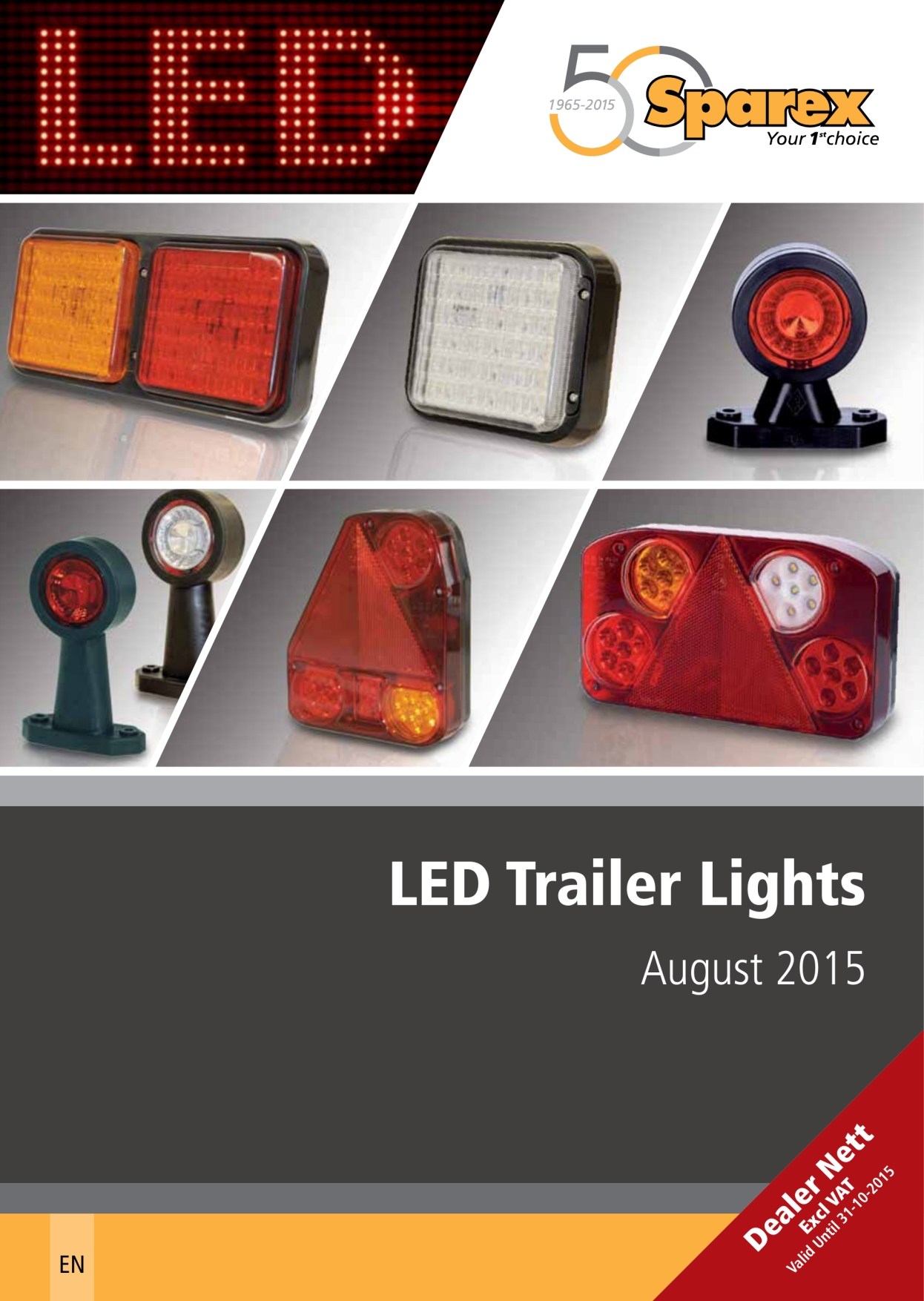 Sparex Catalogues Wiring Trailer Lights Uk S700669 Led